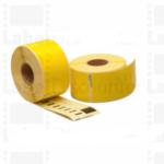 Amarillo 89mmX36mm 260psc paraDYMO Labelwriter 400 #S0722400